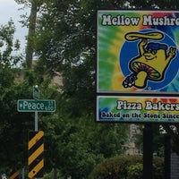 Photo taken at Mellow Mushroom by Bree D. on 4/27/2013