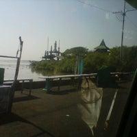 Photo taken at Kenjeran Park - Pantai Ria Kenjeran by hendrix c. on 9/23/2012