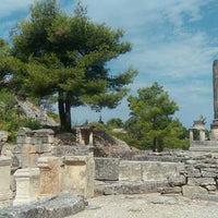 Photo taken at Glanum by Eric D. on 8/13/2015