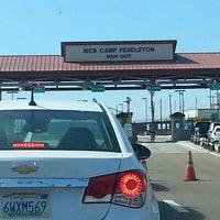 Photo taken at MCB Camp Pendleton - Main Gate by Alvin R. on 6/27/2013