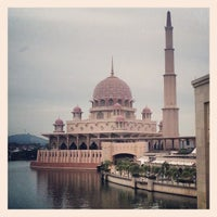 Photo taken at Masjid Putra by May T. on 4/14/2013