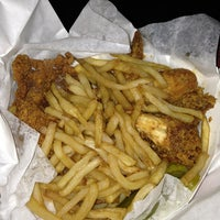 Photo taken at Hall's Honey Fried Chicken by Devin M. on 6/1/2013