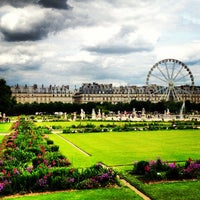 Photo taken at Tuileries Garden by Aim To T. on 6/26/2013