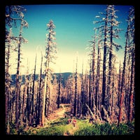 Photo taken at Cooper Spur by Launa G. on 7/6/2013