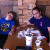 Photo taken at Cook-Out by Christy T. on 10/9/2014