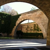 Photo taken at Palau reial de l'Almudaina by A. D. on 1/26/2013