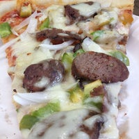 Photo taken at Mike's Pizza by Laura E. on 7/11/2014