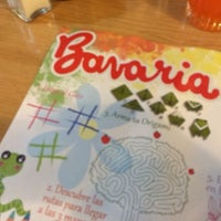 Photo taken at Bavaria, Cafeteria y Restaurant by Manuel Alejandro P. on 6/10/2014