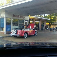 Photo taken at Mobil by Missy A. on 6/11/2013