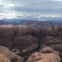 Photo taken at Poison Spider Mesa Trail by David P. on 8/4/2015