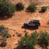 Photo taken at Poison Spider Mesa Trail by David P. on 8/18/2015
