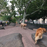 Photo taken at Chelsea Waterside Park Dog Run by Tammy H. on 6/4/2016