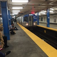 Photo taken at 33rd St PATH Station by John F. on 9/30/2016