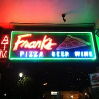 Photo taken at Frank's Pizza by CentralTexas R. on 4/14/2013