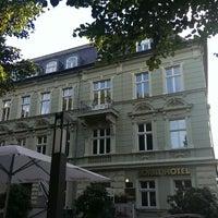 Das Foto wurde bei SORAT Hotel Cottbus von Mich L. am 8/29/2013 aufgenommen