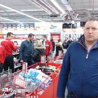 Photo taken at Media Markt by Doran C. on 2/1/2014