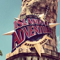 Photo taken at Universal's Islands of Adventure by Luis M. on 5/6/2013
