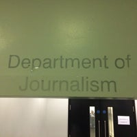 Photo taken at City University Journalism Department by Adam T. on 11/6/2013