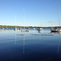 Photo taken at Lake Harriet by Aurica H. on 6/28/2013