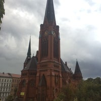 Photo taken at American Church in Berlin by Igor M. on 9/10/2014