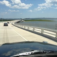 Photo taken at Howard S. Stainton Memorial Causeway by Susan G. on 9/1/2013
