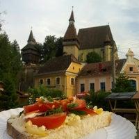 Photo taken at Biertan by Ioana 🚲✈🚀 C. on 7/28/2014