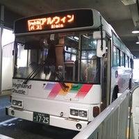Photo taken at Matsumoto Bus Terminal by ふじも on 9/7/2013