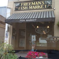 Photo taken at Freeman's Fish Market by Dr. Brod H. on 9/4/2012