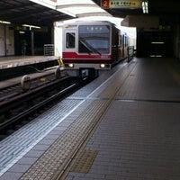 Photo taken at Nishinakajima-Minamigata Station (M14) by shunkit2 @. on 3/11/2012