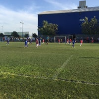 Photo taken at Polideportivo Tigres UANL by Arturo C. on 4/30/2016