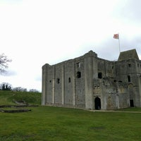 Photo taken at Castle Rising Castle by Phil A. on 3/21/2016