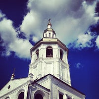 Photo taken at Свято-Знаменский Абалакский монастырь by Алексей К. on 7/6/2013