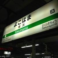 Photo taken at JR 横浜駅 3-4番線ホーム by DanganTraveler on 8/3/2013