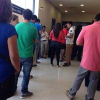 Photo taken at Banco de Chile by Sofía F. on 11/4/2013