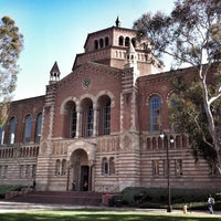 Photo taken at UCLA Powell Library by Petr H. on 9/19/2013