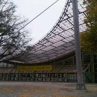 Photo taken at Olympiahalle by Gueh Lee B. on 10/26/2012