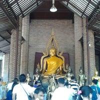 Photo taken at Wat Yaichaimongkol by Thargoon S. on 6/1/2013