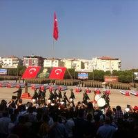 Photo taken at 1.Piyade Eğt. Tugay Komutanlığı Karargâh Bölüğü by Özge A. on 9/5/2014