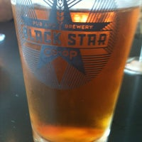 Photo taken at Black Star Co-op Pub & Brewery by Carolyn M. on 4/6/2013