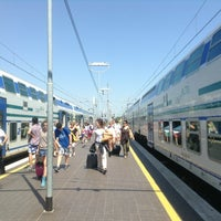 Photo taken at Stazione Lucca by Momik V. on 6/17/2013