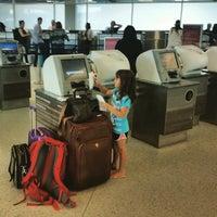 Photo taken at Terminal E by bryan p. on 6/13/2015