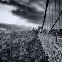 Photo taken at Clifton Suspension Bridge by Aaron R. on 1/7/2013