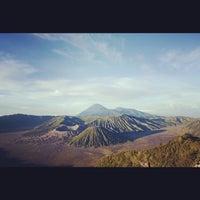 Photo taken at Mount Bromo by Yusvari H. on 10/3/2012