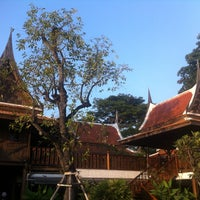 Photo taken at Baan Thai House Homestay by Ramin T. on 11/26/2014