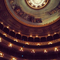 Photo taken at Teatro Colón by Visne K. on 2/23/2013