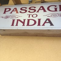 Photo taken at Passage To India by Shelly . on 7/6/2013