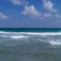 Photo taken at Playa del Tabal_La Manga by Vanesa T. on 9/4/2013