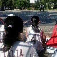 Photo taken at SMA Negeri 8 Malang by inggita a. on 6/29/2013