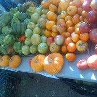 Photo taken at Farmers Market on Cortelyou by RDasheenb D. on 10/20/2013