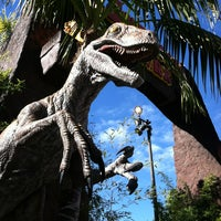 Photo taken at Jurassic Park The Ride by Will B. on 1/15/2013